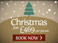 Christmas. Just £469pp. BOOK NOW