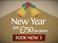 New Year. Just £750pp. BOOK NOW