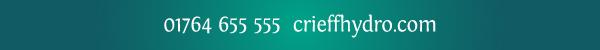 01764 655 555  crieffhydro.com