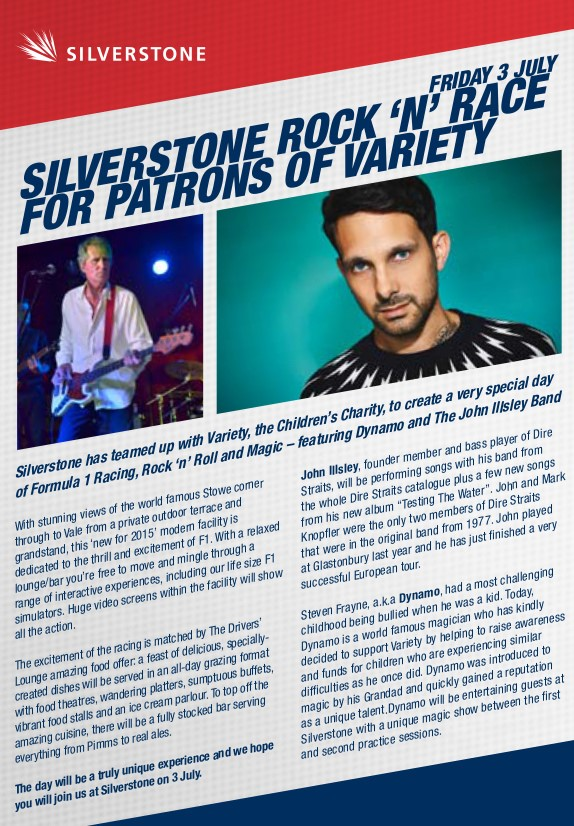 Silverstone Rock'n'Race for Patrons of Variety, Friday 3rd July