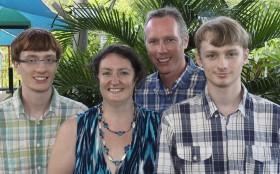 Graham, David, Jen and Jonathan