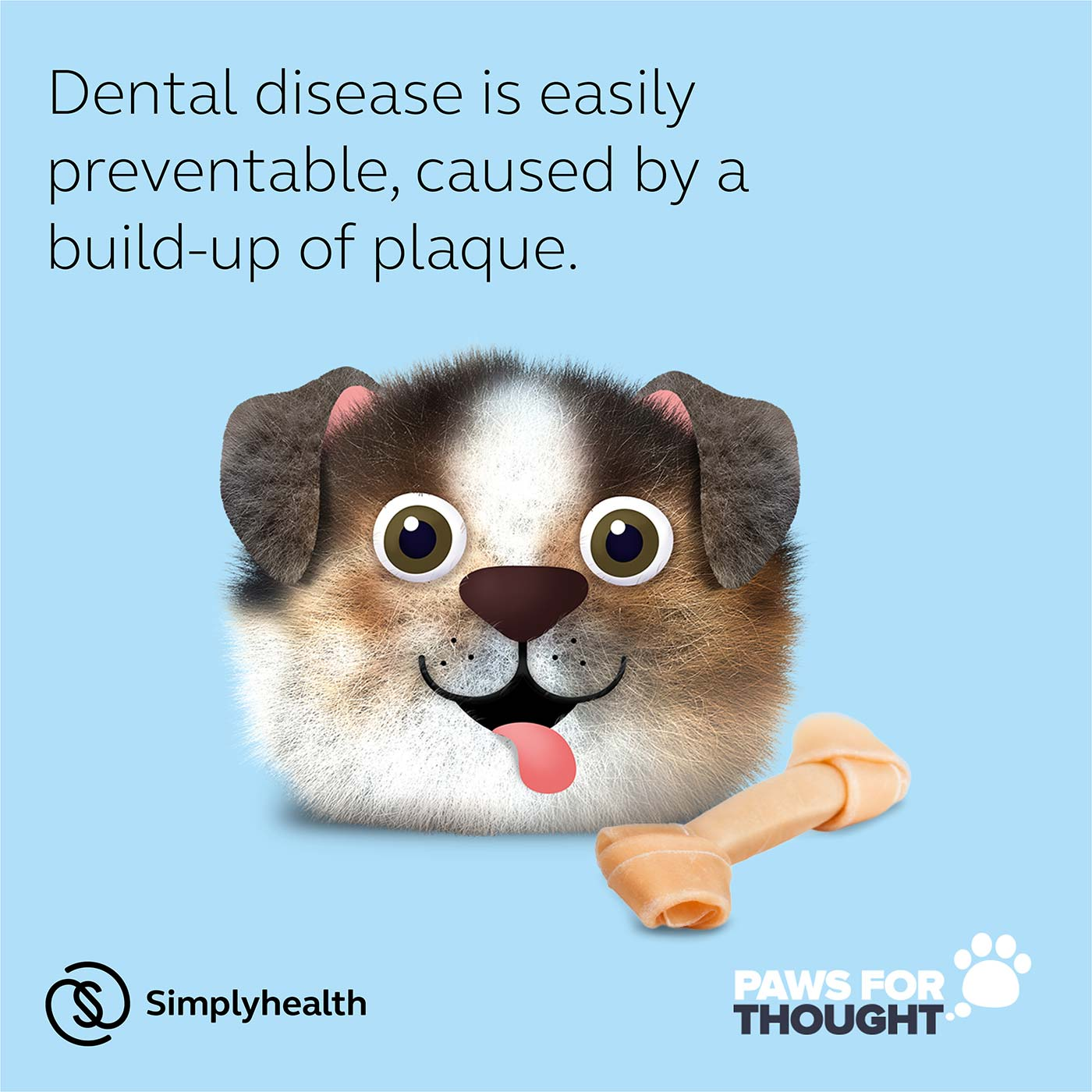 Dental Health Practice Poster Dogs