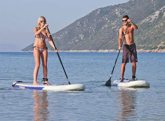Paddleboard and Kayak - They're included!