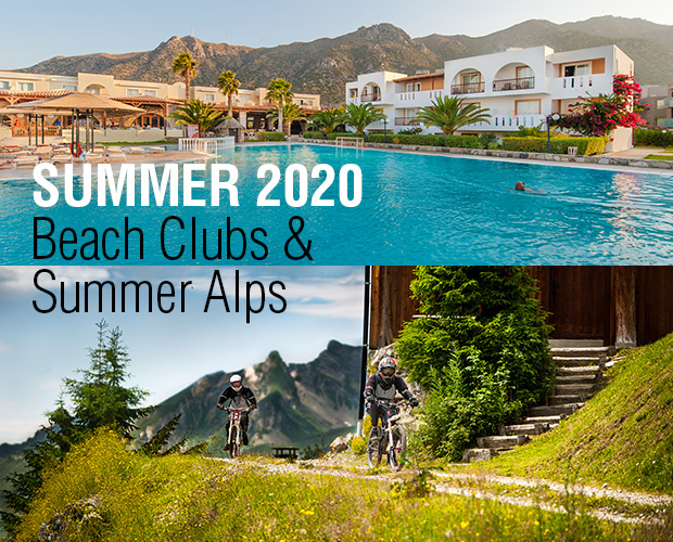 Beach Club and Summer Alps 2020 Holidays