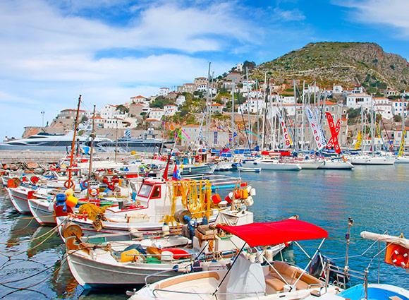Nafplion Flotilla Route