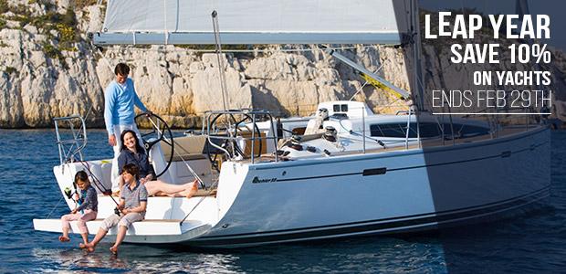 Save 10% on Sailing Holidays