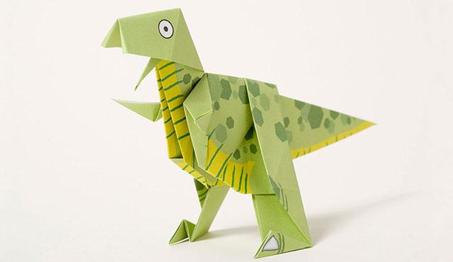 Origami T. rex