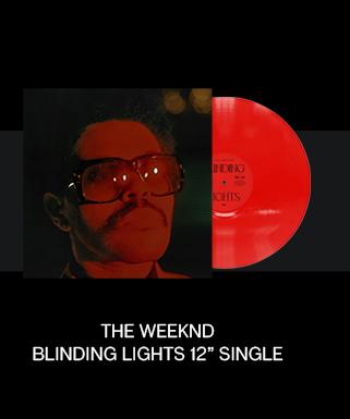 "The Weeknd Blinding Lights 12"" Single"