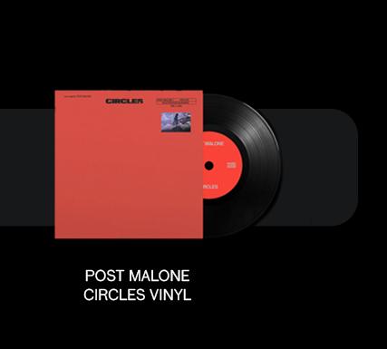 Post Malone Circle Vinyl