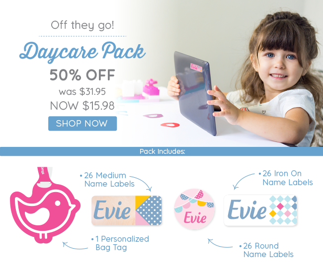50% Off Daycare Pack!