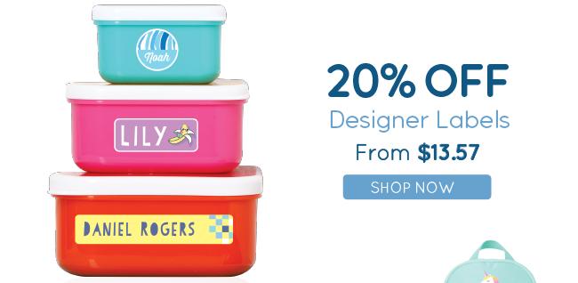 20% Off Designer Labels!