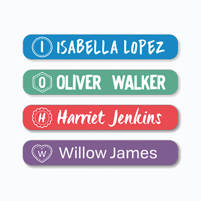 MULTI USE LABELS MONOGRAM MINI