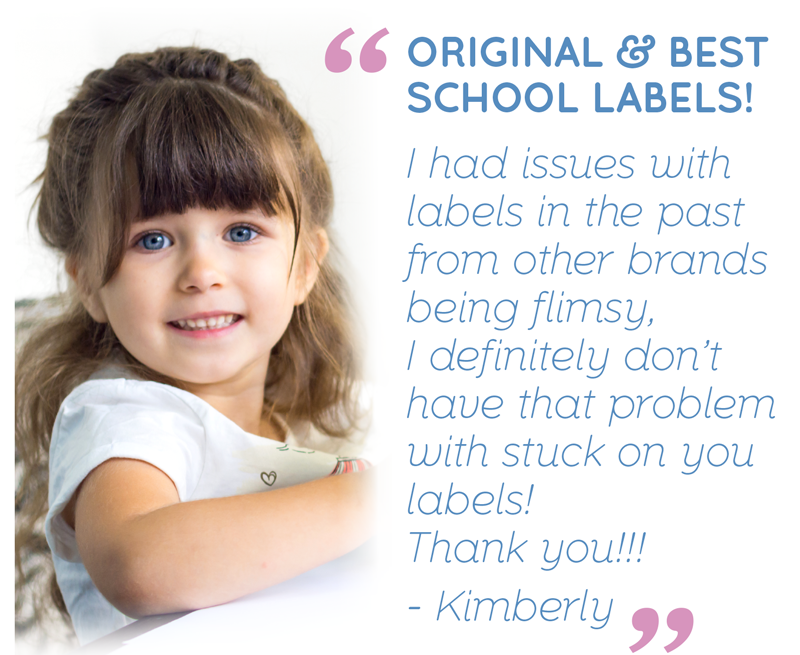 Original & Best School Labels