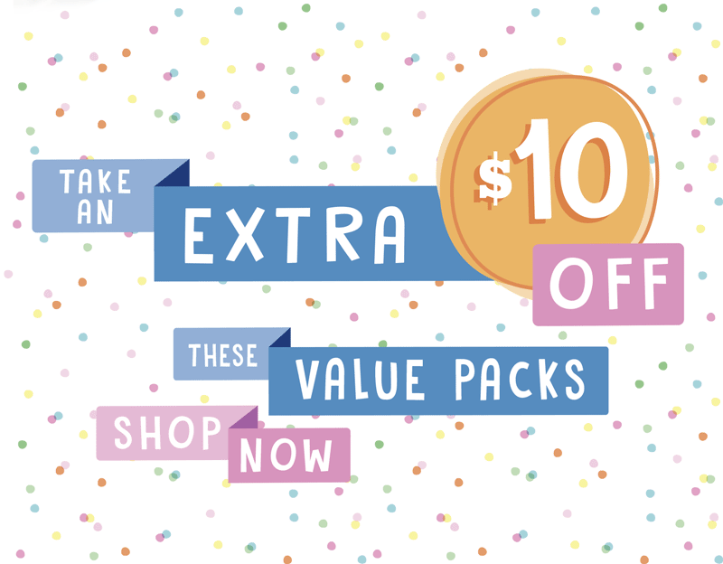 Take extra off these Value Packs. Shop Now.