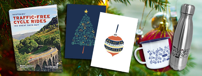 Gift ideas from Sustrans shop