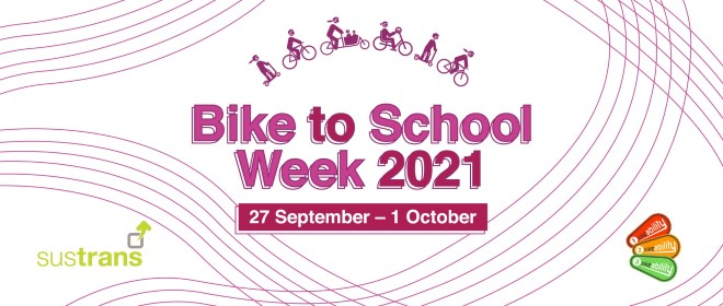 Bike to School Week 2021 takes place between 27 September and 1 October