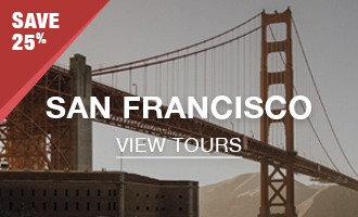 San Francisco Tours - 25% Off