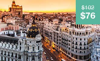 Madrid in a Day: 25% Off