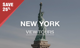New York Tours - 25% Off