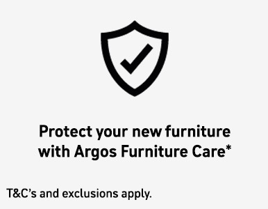 Protect your new furniture with Argos Furniture Care.