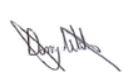 Danny Wilson signature