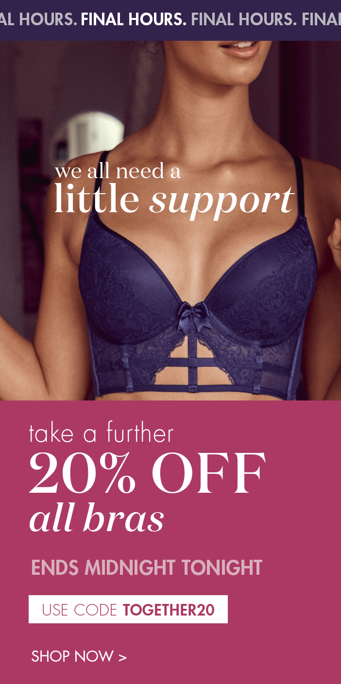20% OFF All Bras