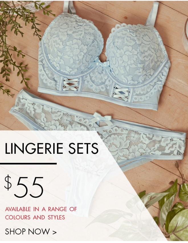 $55 Lingerie Sets