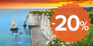 20% off Western France