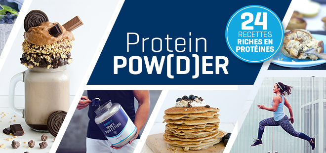 Recettes aux protéines en poudre