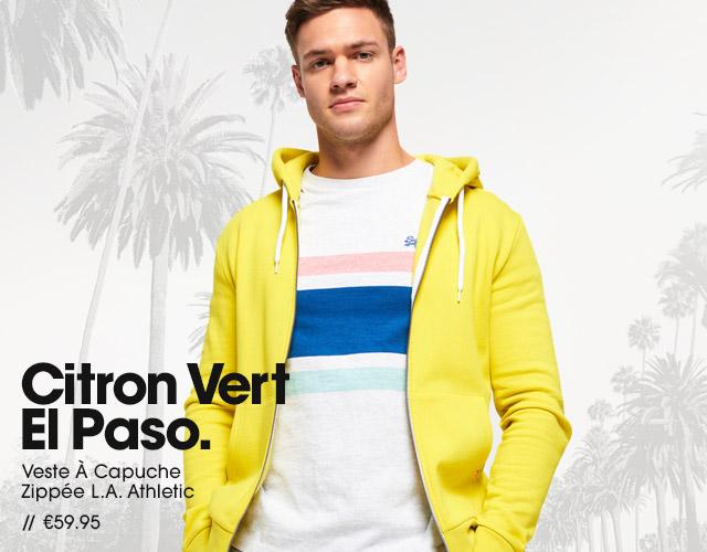 Veste À Capuche Zippée L.A. Athletic
