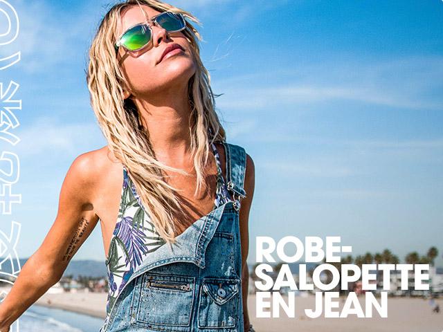 Robe-Salopette En Jean