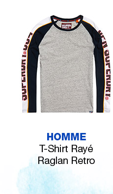 Retro Stripe Raglan T-Shirt