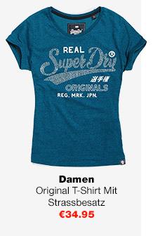 Original T-Shirt Mit Strassbesatz