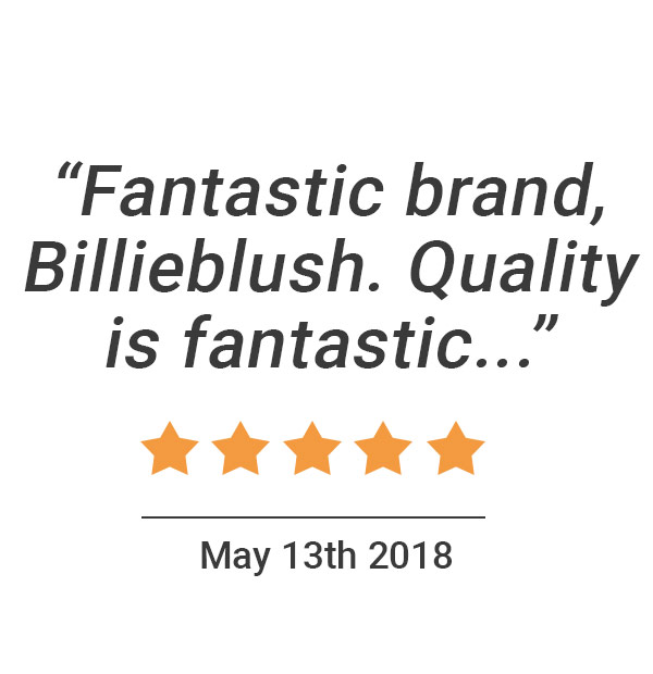 """Fantastic brand, Billieblush. Quality is fantastic..."" 5 stars. Louise, C. May 2018."
