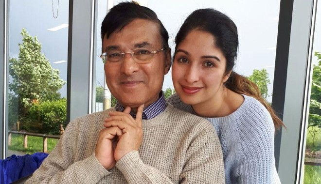 Nimisha and her father, Sharad