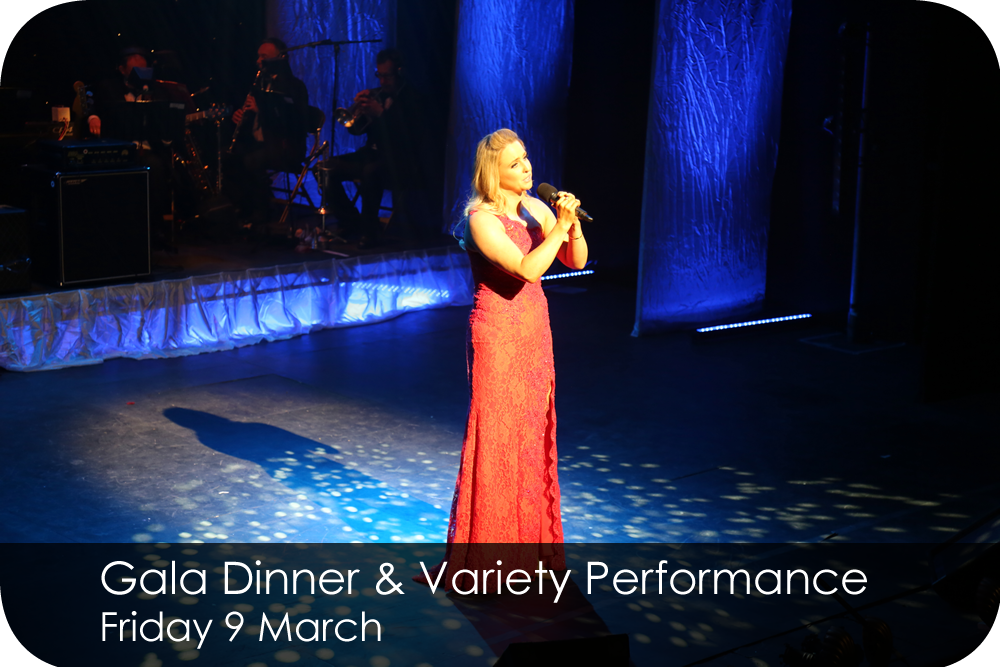 Gala Dinner & Variety Performance 9 March 2018