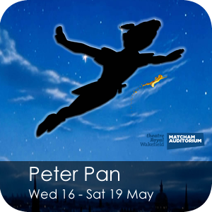 Peter Pan, 16 - 19 May