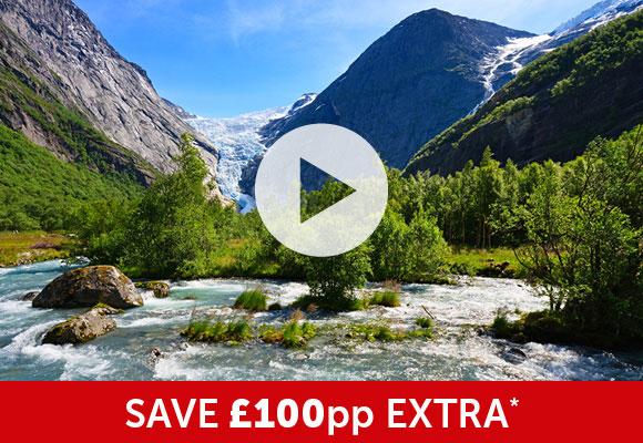 Fjords, Mountains & Glaciers