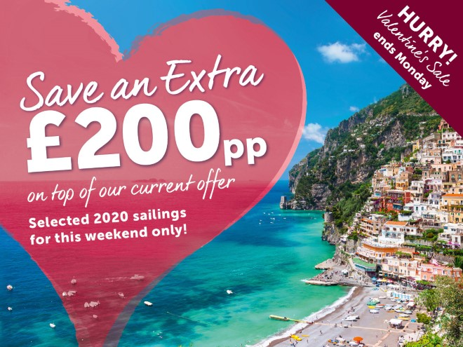 Save an EXTRA £200pp on top of our current offer