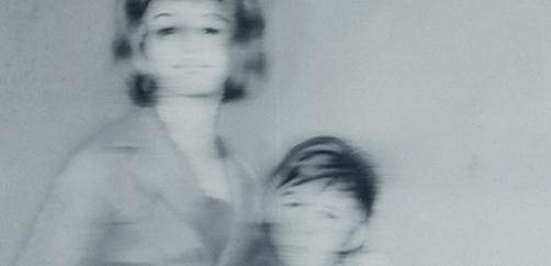 Gerhard Richter, 'Helga Matura y su prometida' (detalle), 1966 © Museum Kunstpalast
