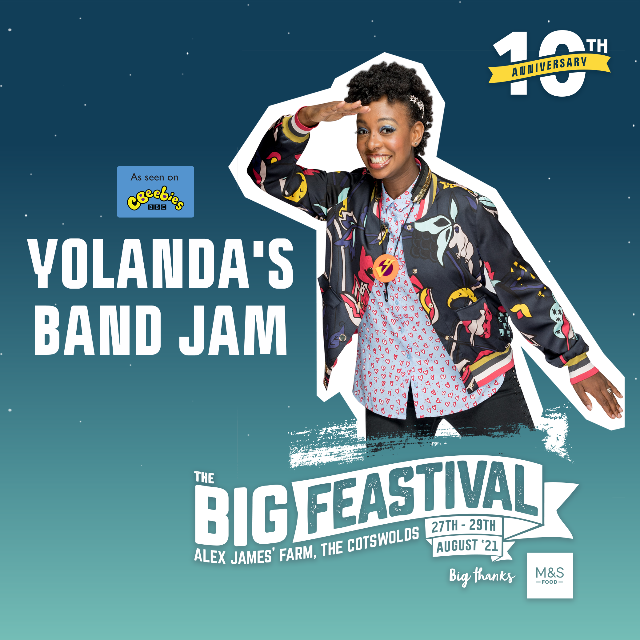 Big Feastival: NEW names added to our Friday full of festival fun! 9