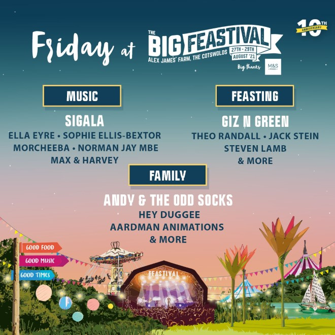 The Big Feastival: FINAL Release Tickets now on sale! 11