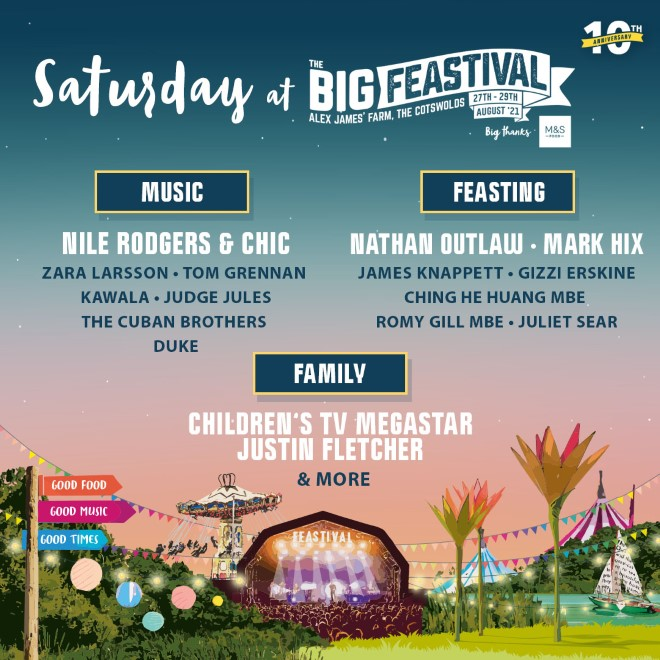 The Big Feastival: FINAL Release Tickets now on sale! 12