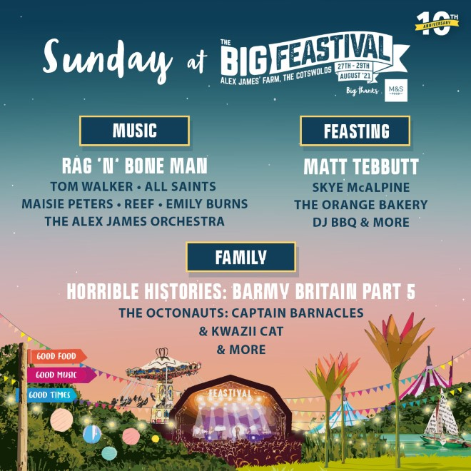 The Big Feastival: FINAL Release Tickets now on sale! 13