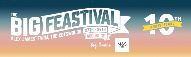 Big Feastival: NEW names added to our Friday full of festival fun! 2